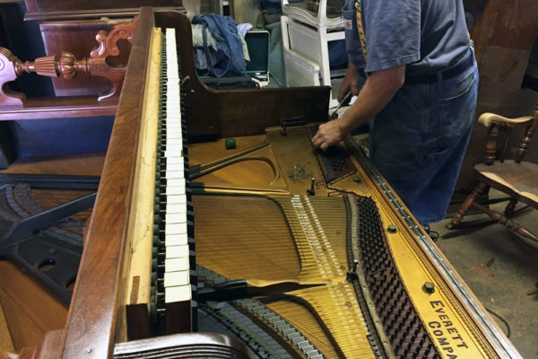 Alan Karzen Restoration - Antique Piano Restoration - Case Study