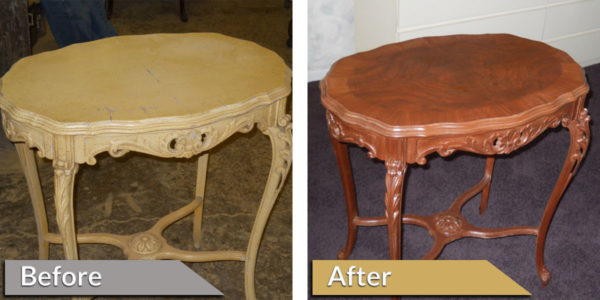 Antique Furniture Restoration - Before and After