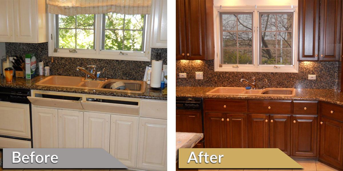 Alan Karzen Restoration   Residential Kitchen Restoration   Before And After